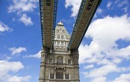 fartygbro gammala london fotografering för bildbyråer