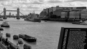 fartygbro gammala london Royaltyfri Bild