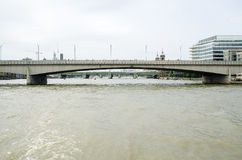 fartygbro gammala london Royaltyfria Foton
