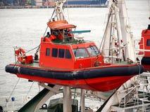 fartygcoastguardräddningsaktion arkivbilder