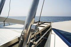 Fartygdäck Arkivbild