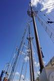 fartyget seglar Royaltyfri Foto