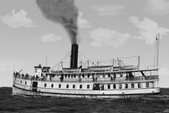 fartygfärja Royaltyfria Bilder