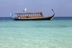 fartygfiske maldivian fotografering för bildbyråer