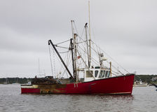 fartygfiskehamn Royaltyfria Bilder