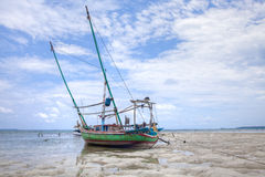 fartygfiskeindonesia karimunjawa Arkivbild