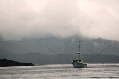 fartygfiskemorgon Royaltyfria Bilder