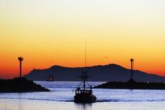 fartygfiskeretur Royaltyfri Fotografi