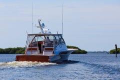 fartygfiskeyacht Royaltyfria Foton