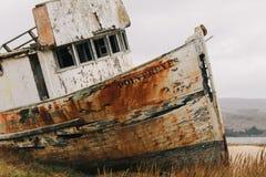 Fartyghaveri på vägen att peka Reyes Arkivfoto
