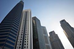 Fartygkaj Singapore Arkivfoton