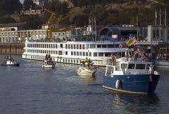 fartygkarneval för 7 belgrade Arkivbild