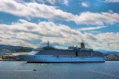 fartygkryssning Royaltyfri Foto