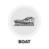 Fartyglinje symbol stock illustrationer