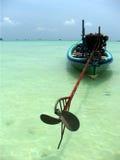 fartyglongtail phuket Arkivbild