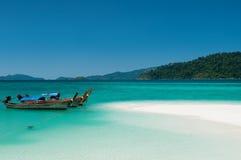 fartyglongtail thailand Arkivbilder