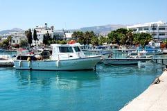 Fartygmarina i det medelhavs- blåa havet Fotografering för Bildbyråer