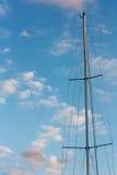 Fartygmast Fotografering för Bildbyråer