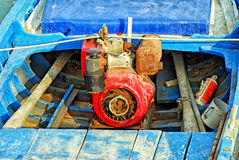 Fartygmotor Arkivfoto