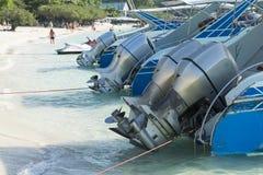 Fartygmotorer Arkivfoto