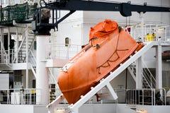 fartygnödlägeräddningsaktion Royaltyfri Bild