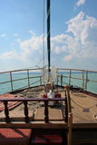 Fartygpilbåge Royaltyfria Bilder