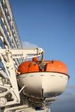 fartygräddningsaktion Arkivbilder