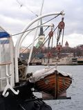 fartygräddningsaktion Royaltyfria Foton