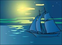 fartygsegling Arkivbild
