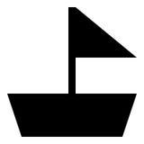 Fartygskårasymbol Arkivfoto