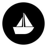 Fartygskårasymbol Royaltyfri Fotografi