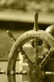 fartygstyrningshjul Royaltyfri Bild