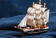 fartygtoywaves Royaltyfri Foto