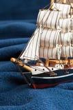 fartygtoywaves Royaltyfri Bild