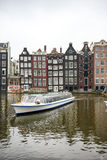 Fartygtur i Amsterdam Arkivbilder