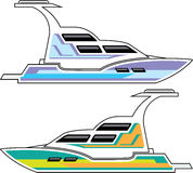 Fartygvektormapp vektor illustrationer