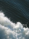 fartygwaves Arkivfoton