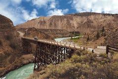 Farwell Canyon-Cariboo Chilcotin royalty free stock photos