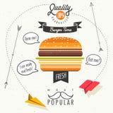 Fas food vector illustration