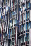 Fasad av byggnad i London Arkivfoton