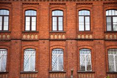 Fasad av byggnaden arkivbild