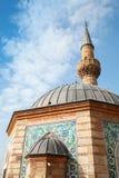 Fasad av den forntida Camii moskén, Konak fyrkant, Izmir Royaltyfri Fotografi