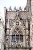 Fasad av den Porta dellaen Carta Arkivbild