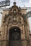 Fasad av den storstads- domkyrkan av Sucre, Bolivia Royaltyfri Fotografi