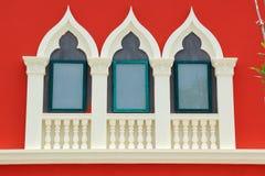 Fasad av det gamla italienska huset Arkivbilder