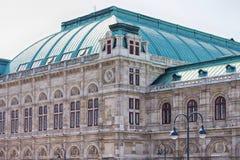 Fasad av en tusen dollar som buiding i Europa Arkivbilder