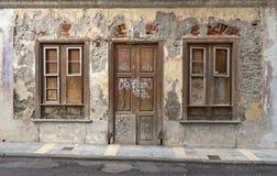Fasad av ett hus Arkivbild