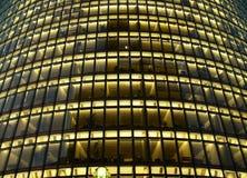 Fasad av ett kontorshus arkivfoton