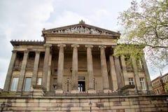 Fasad av Harris Museum royaltyfri fotografi