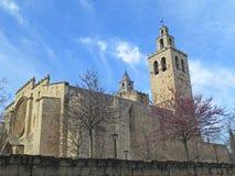 Fasad av kyrkan Arkivfoton